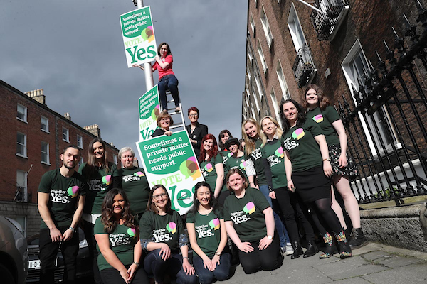 United for repeal: Poster launch in Dublin