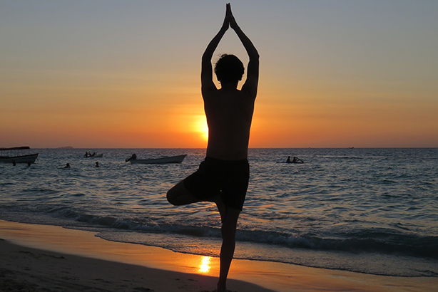 Would yoga AND a sabbatical improve PR employees' well-being? (©Anlevy via Pixabay)
