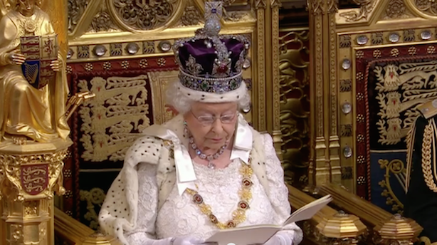 The Queen: Outlined plans to help people find work