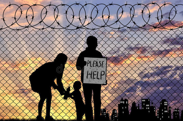 The EHRC campaign aims to challenge prejudices about refugees