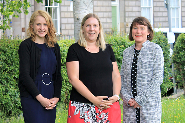 Relative PR: Annie Diamond (director), Nathalie Agnew (MD) & Rosemary Gallagher (director)