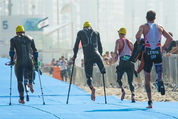 Paralympics: Para-triathletes at a Rio test event (credit: Alex Ferro/Rio2016)