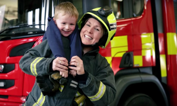 South Yorkshire Fire and Rescue: Capitalised on the bond between women firefighters and their kids