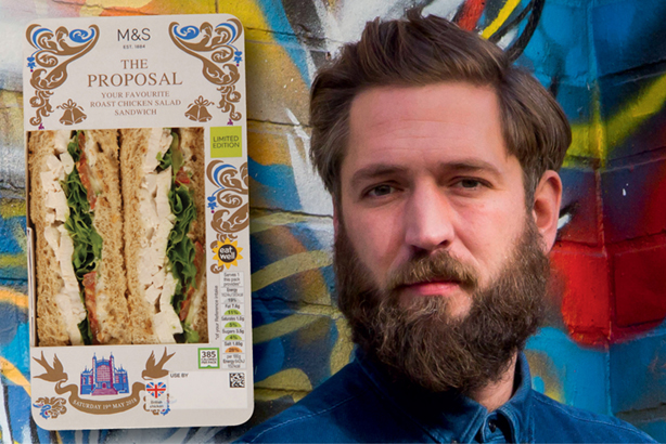 Unimpressed: topical sandwich (left) and Mackay-Sinclair