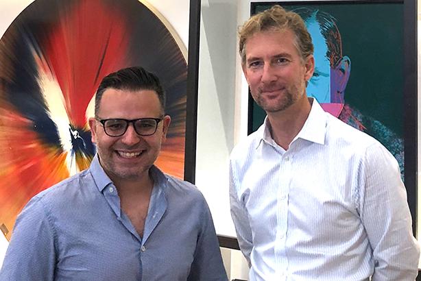 Social Misfits Media CEO Carlos Miranda and The Brewery and Freuds CEO Arlo Brady