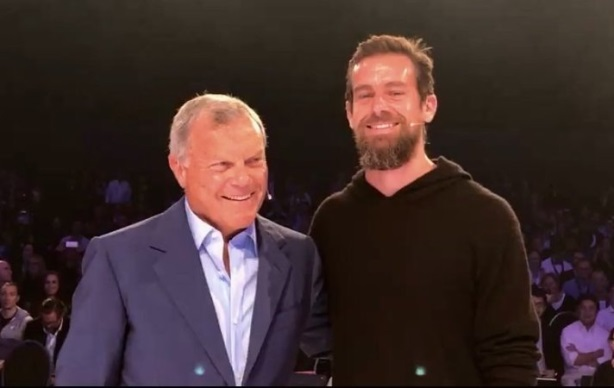 Martin Sorrell fulfilled a promise to Jack Dorsey this week when he tweeted for the first time.