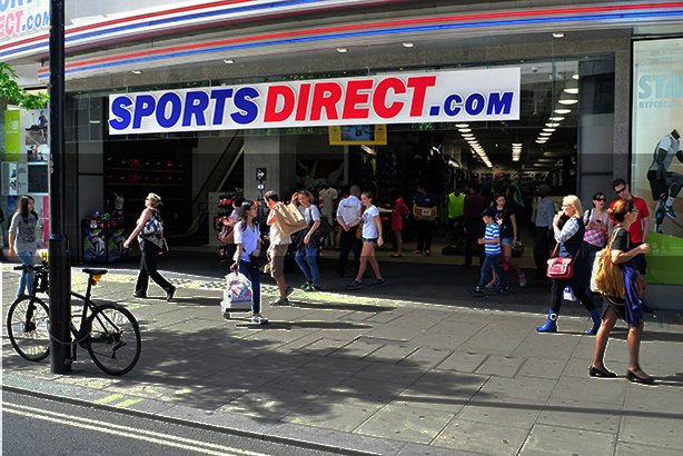 Sports Direct claim to be facing an 'extreme political, union and media campaign' (©Yanice Idir/Alamy Stock Photo)