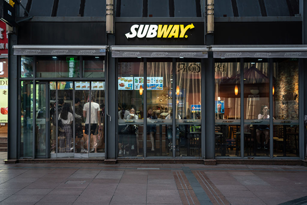 Subway store, Shanghai, China (©GettyImages)