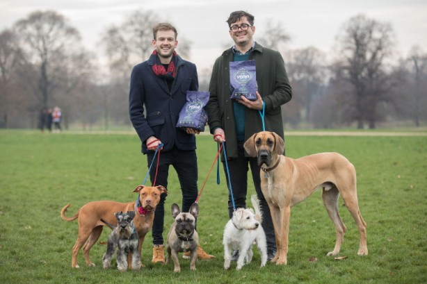 TV vet Rory Cowlam and Yora founder Tom Neish launch sustainable dog food