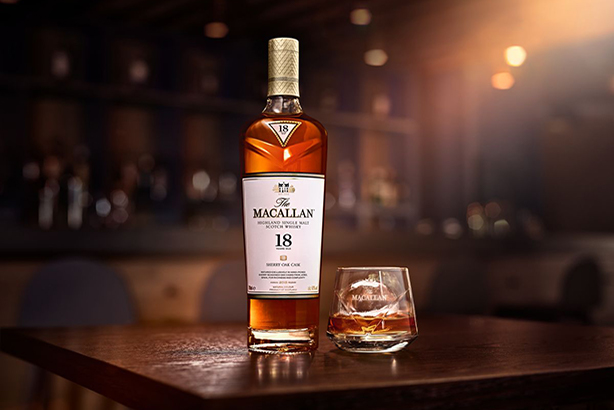The Macallan is the third-highest selling scotch malt whisky brand in the world.