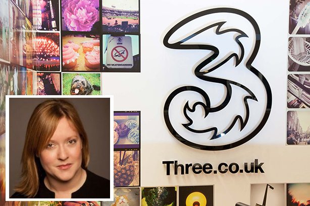 Three's new head of PR and social, Laura Wilkinson-Rea