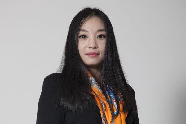Tingting Wu, general manager of RF Thunder Beijing