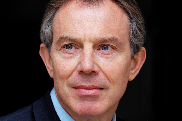 Tony Blair: Now working with Richard Taylor