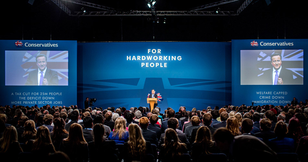 David Cameron's speech to conference in 2014