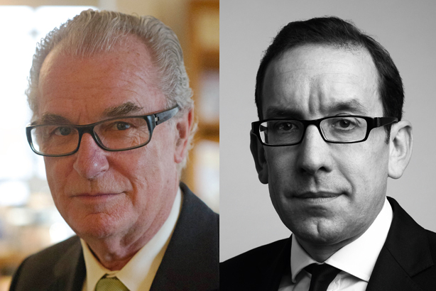 All change: Lord Bell (left) and Alex Bigg have lined up new roles