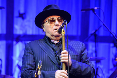 Van Morrison: Has reached an agreement with John Saunders at FleishmanHillard