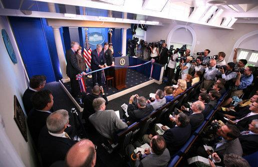 What the Trump White House press corps will look like