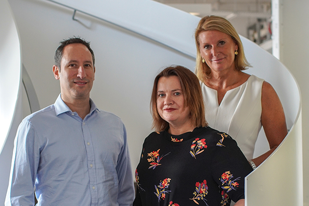 New management for WPP Health Practice: (L-R) Simon Stebbing, Caroline Howe and Claire Gillis