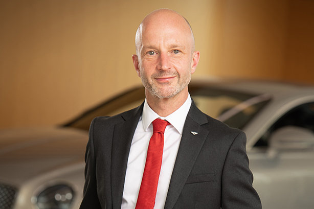 'Awe-inspired': Bentley's new comms director Wayne Bruce