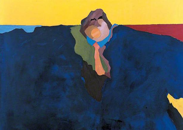 Winston Branch, Yellow Sky, 1970 (C) UCL Art Museum, University College London.