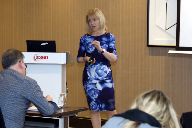 Aileen Thompson: Speaking at the PR360 event