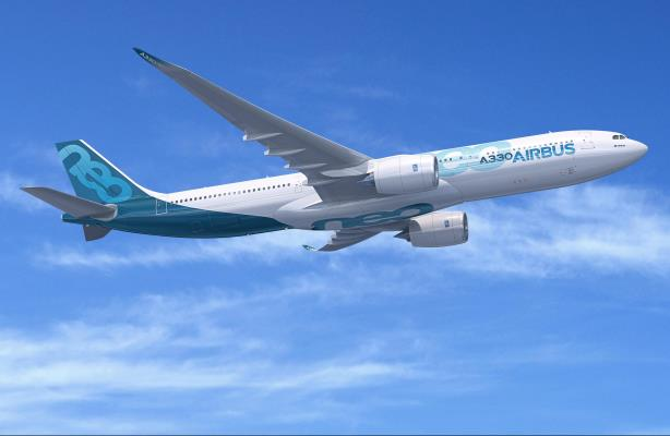 A computer rendering of the Airbus A330-900neo 2. (Image via Airbus' media relations page).