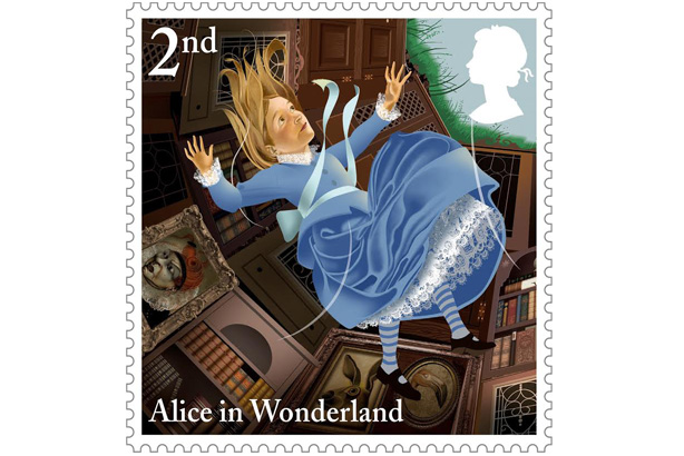 Alice's Adventures: Royal Mail celebrates 150 years of the Lewis Carroll classic