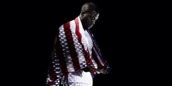 The US men's national soccer team's Jozy Altidore in a campaign for Adidas