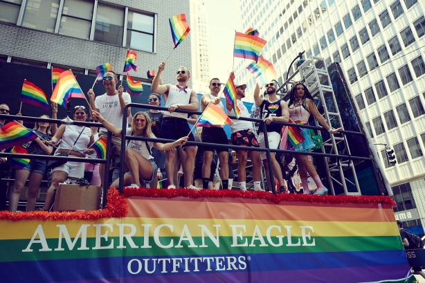 1c33c5c9529f Campaign  Ride with Pride with American Eagle Outfitters Agency  Cult LDN  Duration  June - July 2017