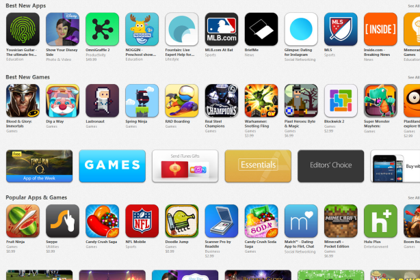 Apple's App Store got the highest level engagement from its Twitter account.
