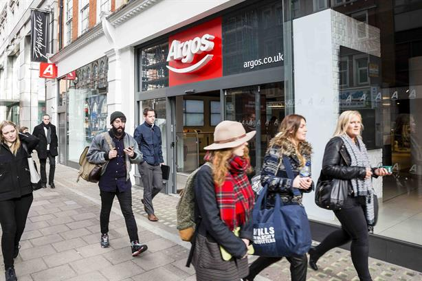 Argos hands Hope&Glory consumer PR brief