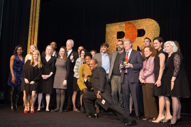Weber Shandwick won Agency of the Year last time around.