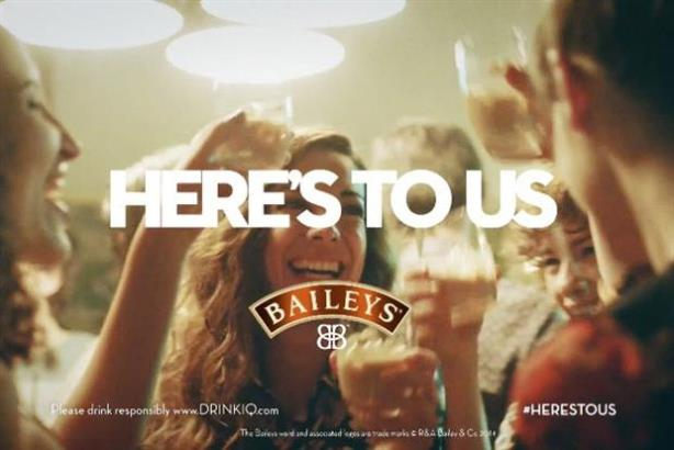 Baileys' Here's to Us campaign goes real-time