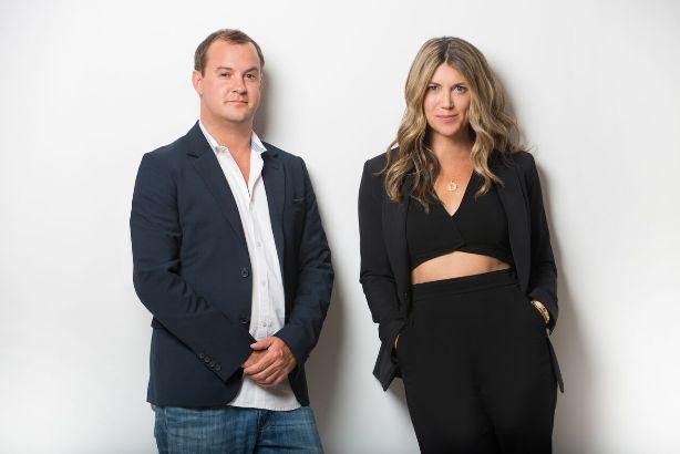 Mark Ballard and Katy Saeger. (Credit: Daniel D'Ottavio Photography)