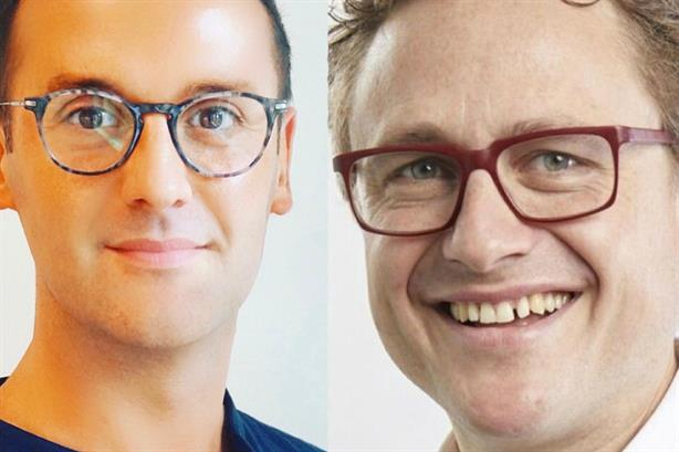 New hires: Ed Green (left) and Pete Sigrist