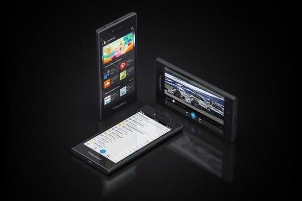 BlackBerry's Leap device
