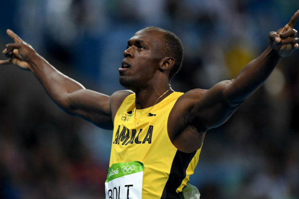 Usain Bolt: late-night marvel (Credit: Getty Images/Shaun Botterill)