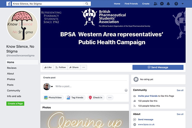 The BPSA student's campaign on Facebook