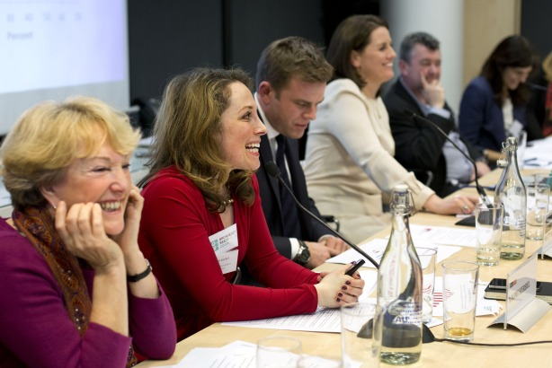 Broadcast Ready: Panel discuss poll findings (Credit: Jess Hurd/reportdigital.co.uk)