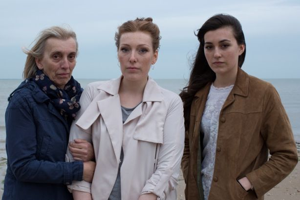 Support: Alex Jones (centre), 25, is currently living with secondary breast cancer