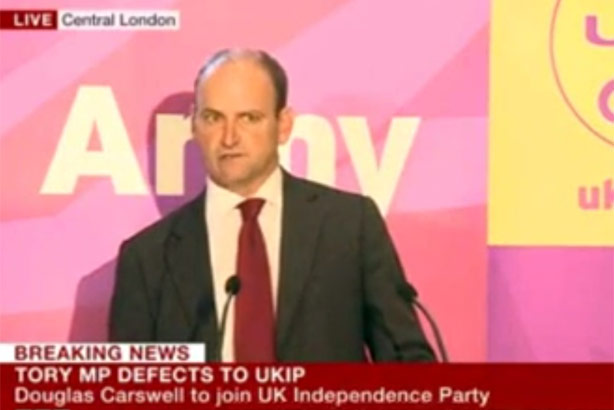 Douglas Carswell: Defected to UKIP