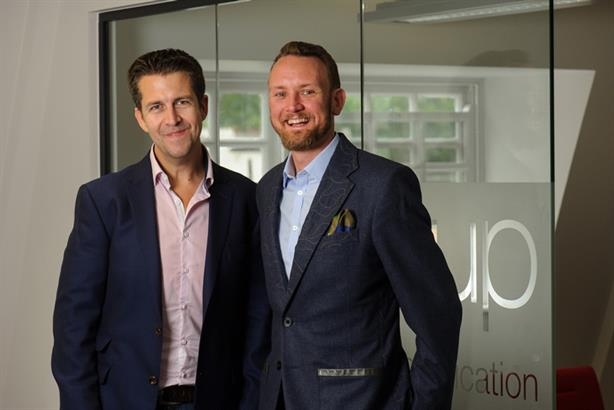 (L-R) Paul Nolan, chief client officer, CCgroup and Richard Fogg, CEO, CCgroup
