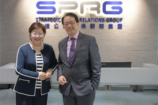 L-R: Heidi Cheng, Richard Tsang