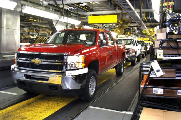GM is doubling down on its truck production to help it invest for the future.
