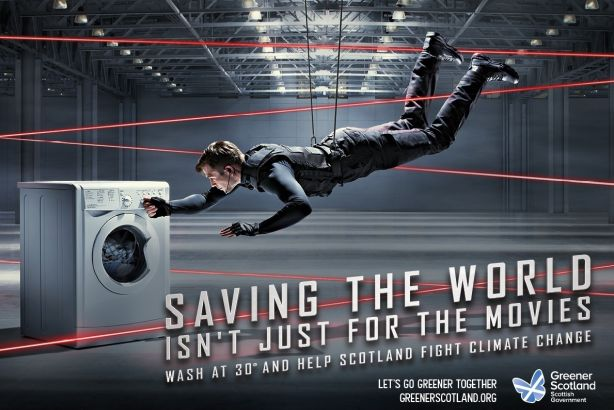 Save the world: The Scottish Government's 'green' campaign