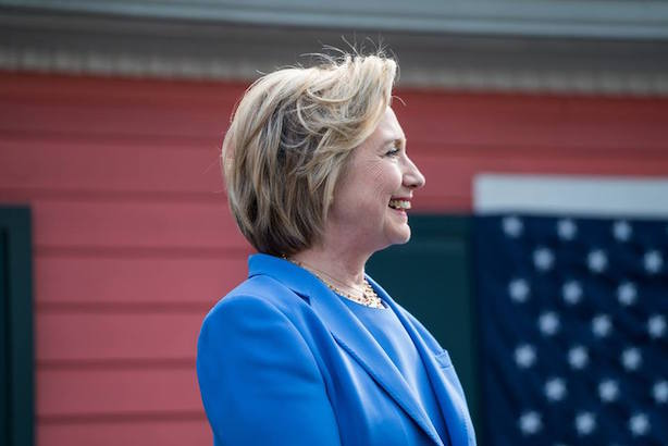 Hillary Clinton will try to stop her primary losing streak tonight with a win in Kentucky. (Image via her campaign's Facebook page).