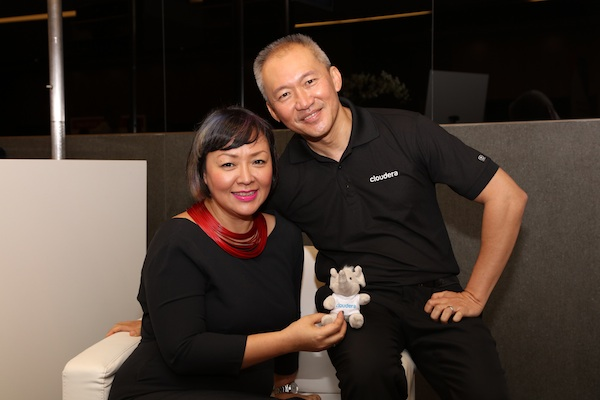 Naeema Ismail, Ying PR & Daniel Ng, Cloudera