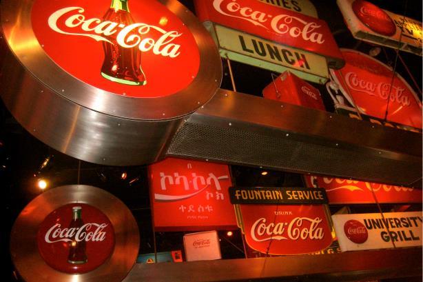 The Coca-Cola Museum in Atlanta. (Image via Wikipedia Commons)