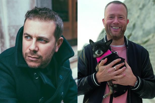 'We have a similar outlook on life' - Damon Statt (left) with Greg Jones
