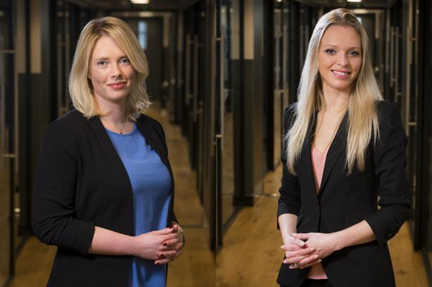 New hires: Alice Lacey (left) and Anita Gryson